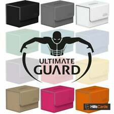More details for ultimate guard sidewinder xenoskin 80+ deck box | choose colour | card case ug