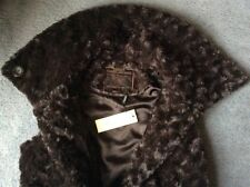 03f6bb31f4eb BNWT ROCHA J ROCHA Soft Warm Faux Fur Gilet Top Jacket UK 14, All Saints