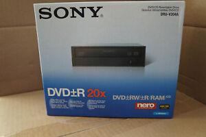 NEW SONY DRU-V204A  DVD/CD Rewritable Drive Black NIB SEALED