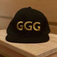 NEW Gennady GGG Golovkin Black Chivas Regal Boxing Snapback Hat Canelo