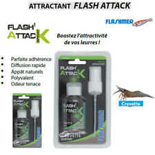 Attractant de peche Flashmer Flash Attack Spray Modèle Crevette