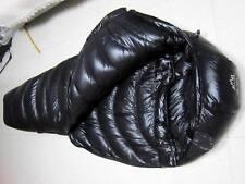 Shiny Gloss wetlook nylon mummy sleeping bag 3000g down Expedition sleeping bags
