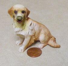 1:12 scala RESINA Golden Retriever Cane DOLLS HOUSE miniatura Accessorio PET LP13