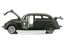 SIGNATURE MODELS 1936 Chrysler Airflow 1/32 Die Cast Model U.S. ARMY MILITARY