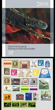 Estland  Estonia 2010 JAARCOLLECTIE/YEARSET  POSTFRIS/MNH