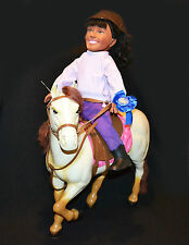 The Saddle Club Large Horse & Carol Doll Rare