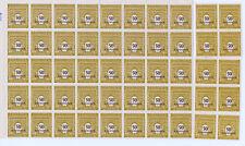 FRANCE 1/2 FEUILLE N° 704 ARC de TRIOMPHE . 10 timbres découpés.TRES BELLE.