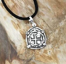 ATOCHA Coin Pendant Design 1600-1700 Era 925 Silver Sunken Treasure Coin Jewelry
