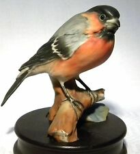 AK KAISER BIRD FIGURE BULLFINCH 561 + PLINTH  c.1960'S