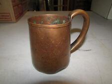 Joseph Schlitz Beer Mug copper cup Vintage Antique Milwauke- Rarest Of The Rare!