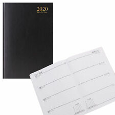 Tallon 2020 A5 Hardback Week to View Diary 3183 - Black