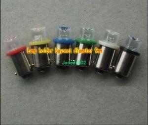 5pcs DC24V/30V 0.5W BA9S bayonet bulb LED lamp beads indicator light bulb