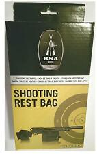 BSA Shooting reste sac-avant et arrière sacs, garder votre fusil / pistolet off the ground