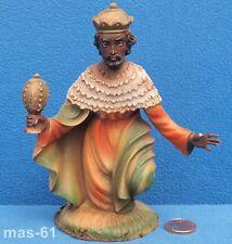 Personaggio Re FONTANINI depose samunetti sul tell personaggio ITALY mangiatoia 11,5 cm