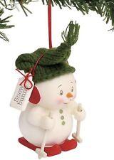 Dept 56 Snowpinions Snow Bunny Ornament #6000938
