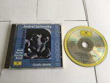Abbado Ensemble Anton Webern Hommage a Andrei Tarkovsky 1996 CD W LUIGI NONO ETC