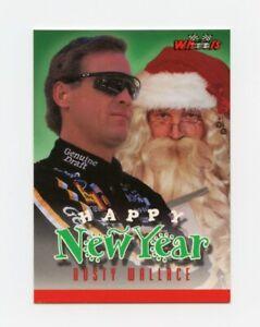 Rusty Wallace 1996 96 Wheels Knight Quest Santa Claus Insert Card Knightquest