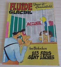 BD BANDE DESSINEE MENSUEL FLUIDE GLACIAL N° 117 EO MARS 1986