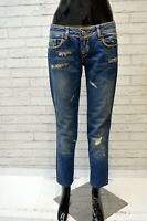 Jeans ROSSO DI SERA Donna Taglia 42 44 Pants Pantalone Regular Cotone Woman Blu