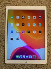 Apple iPad Pro 1st Gen 128GB, Wi-Fi, 12.9in, Gold/White Tablet - FL0R2LL/A