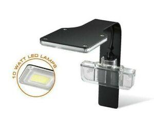 New Aquarex Mini-F6 Aquarium Mini Tank LED *Plant Lamp* 10W Clip Light 30-40cm