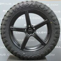 "VEA AUTOMOTIVE VX1 20""INCH BLACK/GREY ALLOYS WHEELS & TYRES X4,VW AMAROK 2011-18"