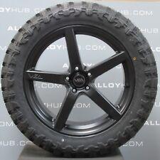 """VEA AUTOMOTIVE VX1 20""""INCH BLACK/GREY ALLOYS WHEELS & TYRES X4,VW AMAROK 2011-18"""