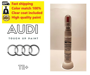 AUDI FACTORY OEM TOUCH UP PAINT PEN WITH BRUSH OEM COLOR CODED LY9B A5 A6 A7 A8