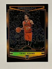 Trae Young 2018 Panini Obsidian Preview Orange RC #575 Hawks /149 Mint