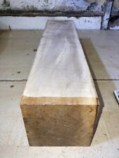 98x98x460mm LOT 49 Rippled Sycamore WOODTURNING FIGURED TIMBER BLANK