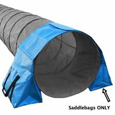 Saddlebags for Stabilizing Dog Agility Tunnel Equipment Indoor or Outdoor