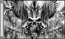 Multipule Skulls Daggers & Swords 3 X 5 Motorcycle Deluxe Biker Flag #382 New