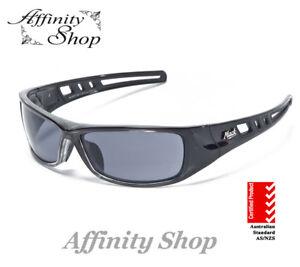 Mack B Double Polarised Safety Glasses ME503 Work Eyewear Sunglasses No Pouch