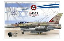 F-16 SUFA I - Israel Air Force - Poster Profile