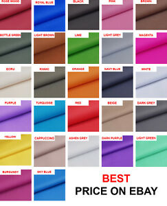 57 COLOURS!! TOUGH WATERPROOF OUTDOOR CANVAS FABRIC MATERIAL COVER CORDURA TYPE!