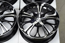 17 5x112 Black Rims Fits Mercedes Benz S430 E320 E Class SLK Passat Jetta Wheels