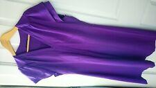 Trinny & Susannah purple dress size 16
