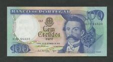 More details for portugal  100 escudos  1978  p169b  about uncirculated  banknotes
