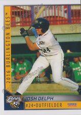 2016 Burlington Bees Josh Delph RC Rookie Angels Minor