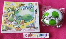 YOSHI'S NEW ISLAND NINTENDO 3DS NEUF VERSION 100% FRANCAISE + MINI PORTE MONNAIE