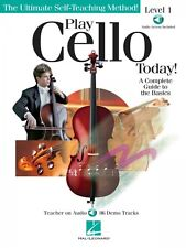 Play Cello Today A Complete Guide to the Basics Instructional Book and 000151353
