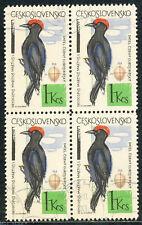 TSCHECHOSLOWAKEI 1964 Vögel 1 K mehrfarbig, Schwarzspecht (Dryocopus martius) O