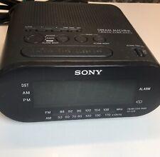 Sony Dream Machine Auto Time Set AM/FM Alarm Digital Clock Radio ICF-C218