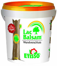 Etisso Lac-Balsam 1 kg Wundverschluss Baumpflege + Spachtel Lacbalsam Wundbalsam