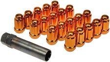 82-02 CAMARO Z28 RS FIREBIRD TA NEW LUG NUTS ORANGE SPLINE DESIGN STYLE 711-355I