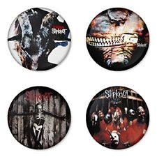 Slipknot , E - 4 chapas, pin, badge, button