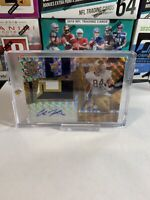 2020 Chronicles Football Draft Cole Kmet Spectra Patch Chicago Bears Auto 7/10