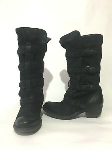 A.S 98 Airstep Women's Boots  Leather Black EUR 38 US 7,5-8
