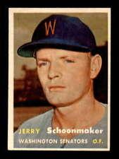 1957 Topps #334 Jerry Schoonmaker  EXMT/EXMT+ X1634754
