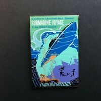 DLR - Framed Attraction Poster - Submarine Voyage - LE 1500 Disney Pin 28489